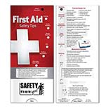 Pocket Slider First Aid Booklet