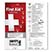 Pocket Slider First Aid Booklet - Health Care & Safety Fitness Products