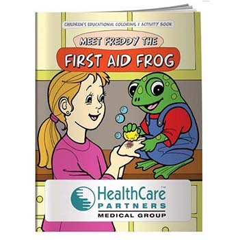 First Aid Fun Activity Booklet - Health Care & Safety Fitness Products