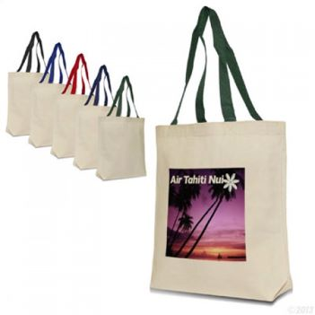 Contemporary Cotton Canvas Tote - Bags