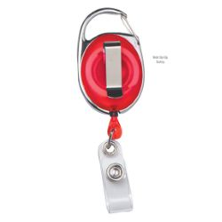Retractable Badge Reel with Carabiner Clip