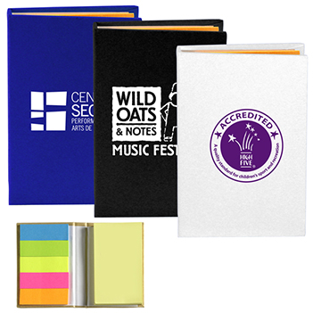 Sticky Note and Flag Notebook - Awards Motivation Gifts