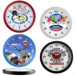 In the Nick of Time Wall Clock