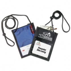 420D Nylon 5 Way Badge Holder