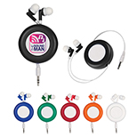 Jazzy Retractable Ear Buds
