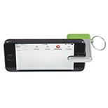 Clean Screen Key Chain Smartphone Stand