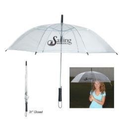 46 Translucent Clear Umbrella