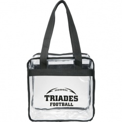 Stadium Clear Zippered Tote