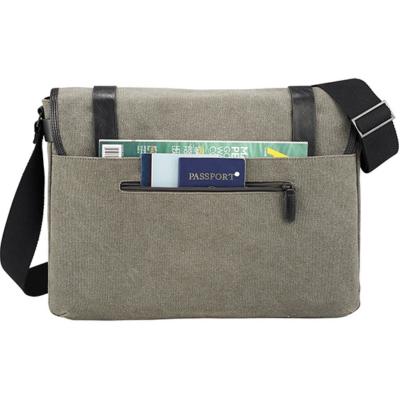 Kenneth Cole Canvas 17 Computer Messenger