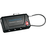 Travel Sentry Luggage Tag & Lock