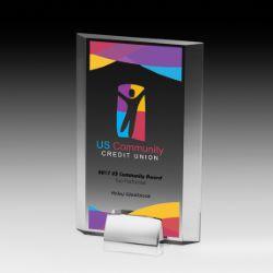 Potter Award with Chrome Base