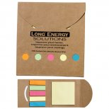 Recycled Adhesive Notes Book