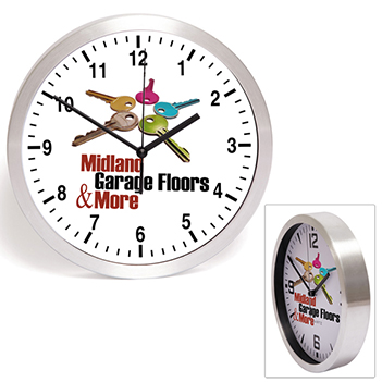 Brushed Finish Wall Clock  - Kitchen & Home Items
