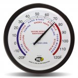 14 Wall Dial Thermometer