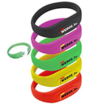 1GB USB Wristband