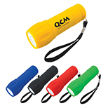 Rubberized Comfort Torch Light
