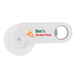 Petite Pizza Cutter and Bottle Opener