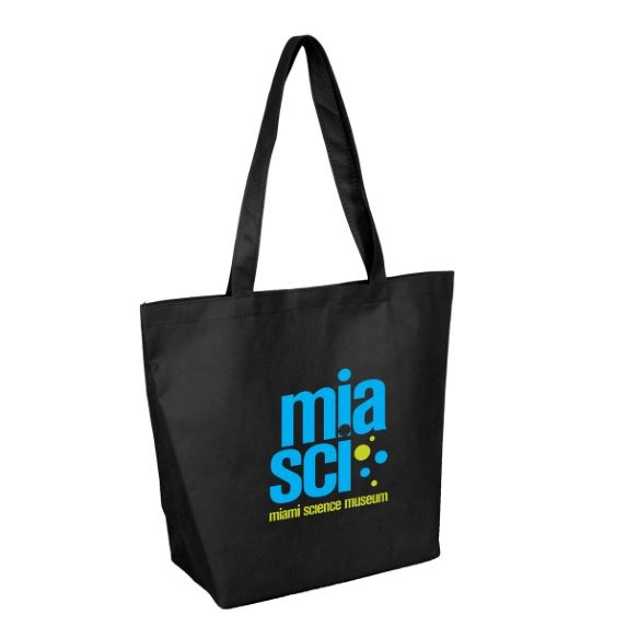 Non-Woven Tote with Gussets and Velcro Closing - Bags