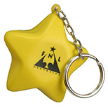 Star Stress Toy Keychain