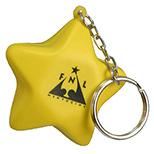 Star Stress Toy Keychain