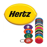Oval Squeeze Coin Holder