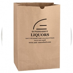 11 x 17 x 6 Kraft Grocery Bag