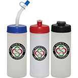 White Made in the USA Sport Bottle - 16 oz.