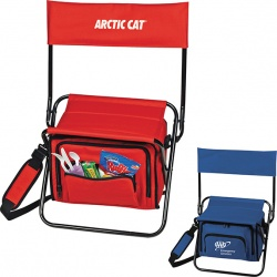 Collapsible Cooler/Chair with Back