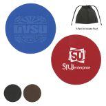 Set of 4 - Leather Coaster Set