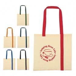 Simple Stripe Canvas Tote Bag