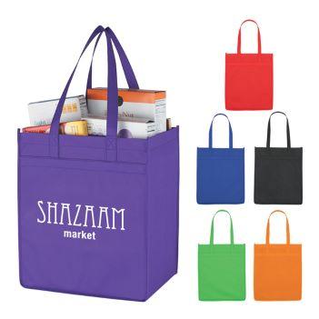 Non-Woven Functional Market Tote Bag - Bags