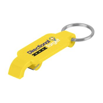 Bottle Opener Key Ring - Travel Accessories & Luggage