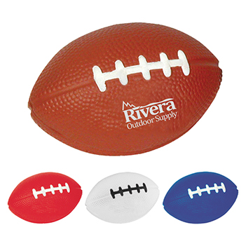 Football-Shaped Stress Reliever - Puzzles, Toys & Games