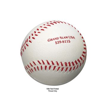 Baseball-Shaped Stress Reliever - Puzzles, Toys & Games