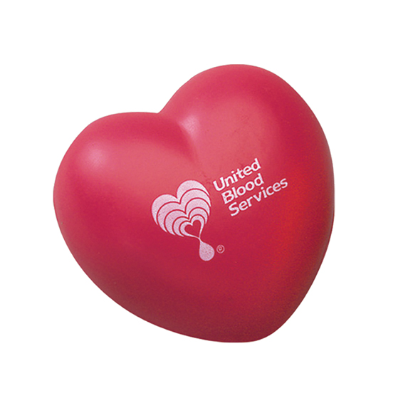 Heart-Shaped Stress Ball - Puzzles, Toys & Games