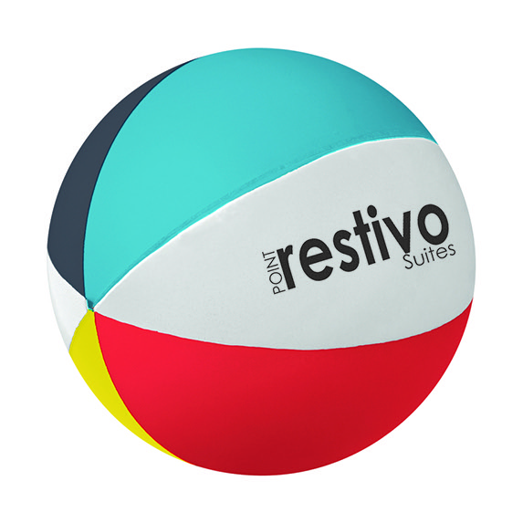 Beach Ball-Shaped Stress Reliever - Puzzles, Toys & Games