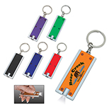 Rectangle LED Key Chain
