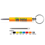 Phillips & Slotted Blade Key Tag