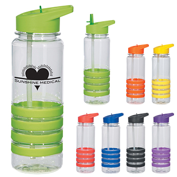 24oz Bottle with Straw - Mugs Drinkware