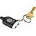 2-in-1 Music Splitter Stylus Keychain - Technology