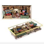 Dog Bone Treat Presentation Gift