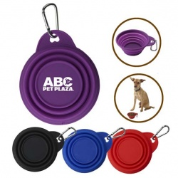 8 Oz Collapsible Silicone Pet Bowl