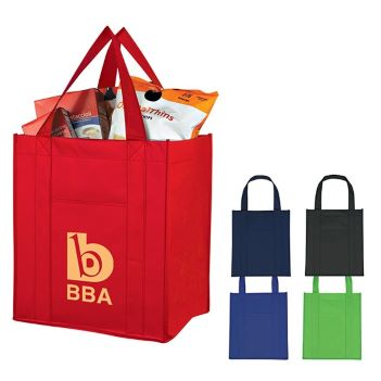 Laminated Grocery Tote - Bags
