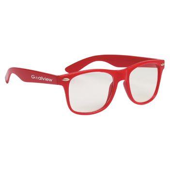 Clear Malibu Glasses - Outdoor Sports Survival