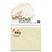 """BIC 4"""" x 3"""" Adhesive Notepad - 25 Sheets - Awards Motivation Gifts"""