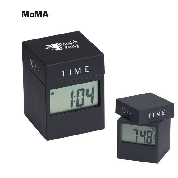 MoMA 4-in-1 Twist Clock