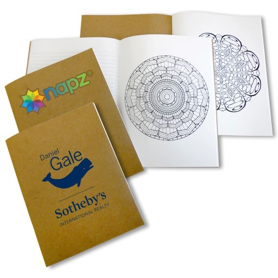 Mandala Notebook/Coloring Book