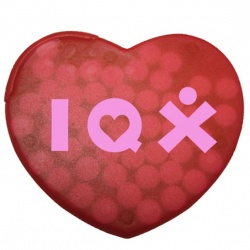Heart Shaped Case Peppermints