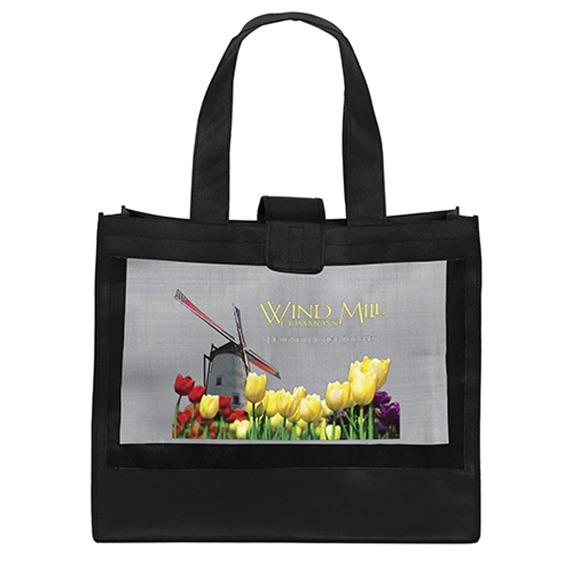 The Transparency Mesh Bag- Full Color - Bags