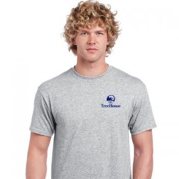Gildan Ultra Cotton Classic Fit Adult T-Shirt 6 oz. - Sport Gray - Apparel